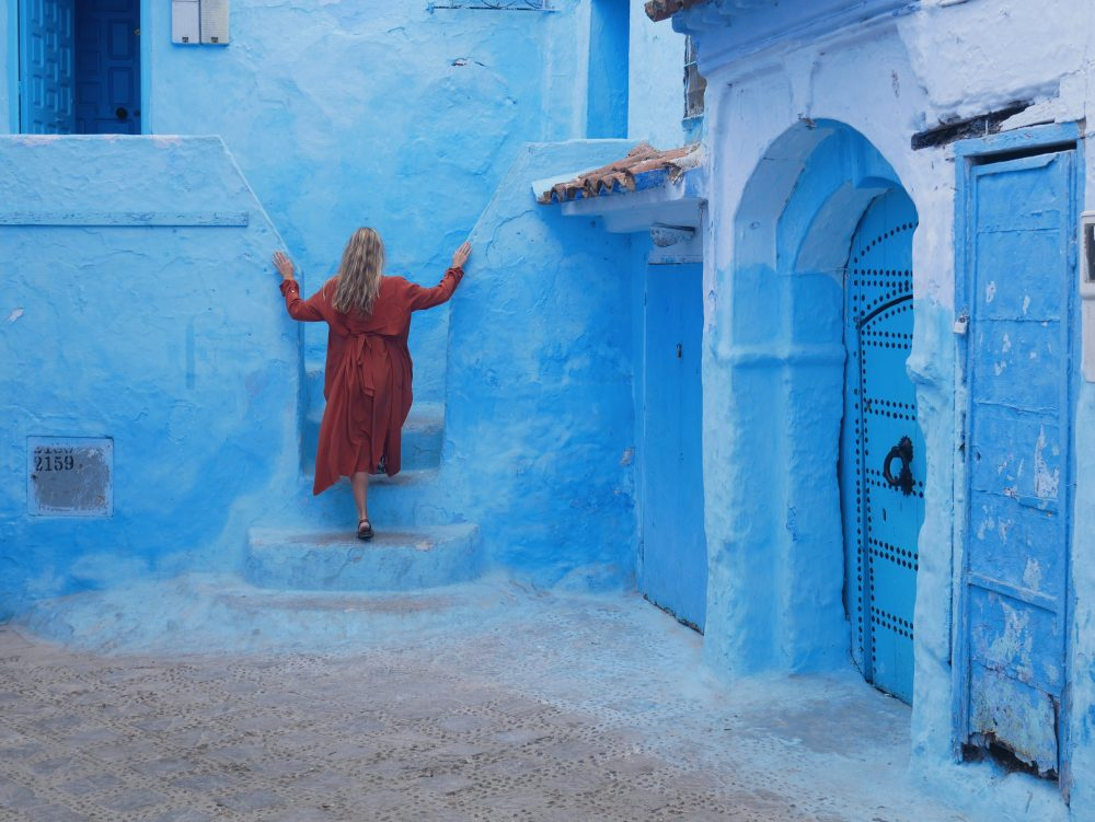 There are a number of theories why Chefchaouen was painted blue – Rachel Jones