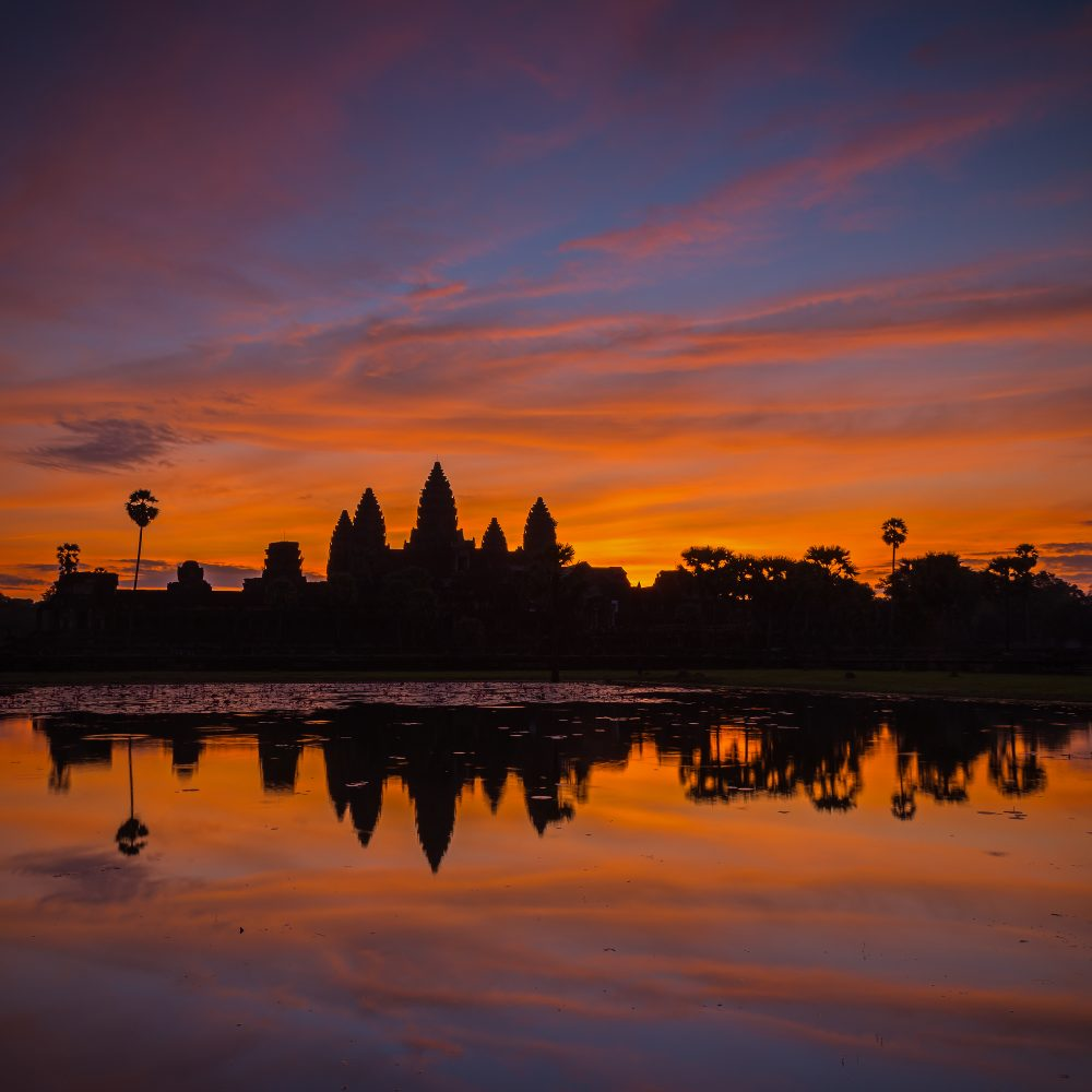 The Angkor Wat marathon is held to raise money to help remove landmines – Shutterstock
