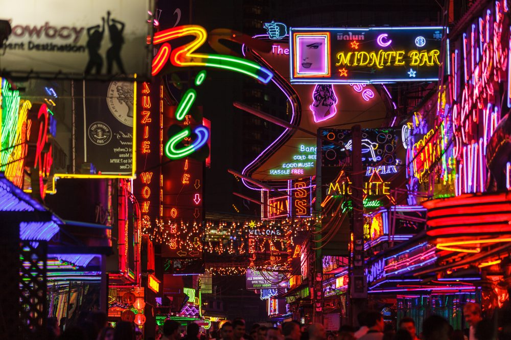 Bangkok's red light district is all a bit tongue-in-cheek – Shutterstock